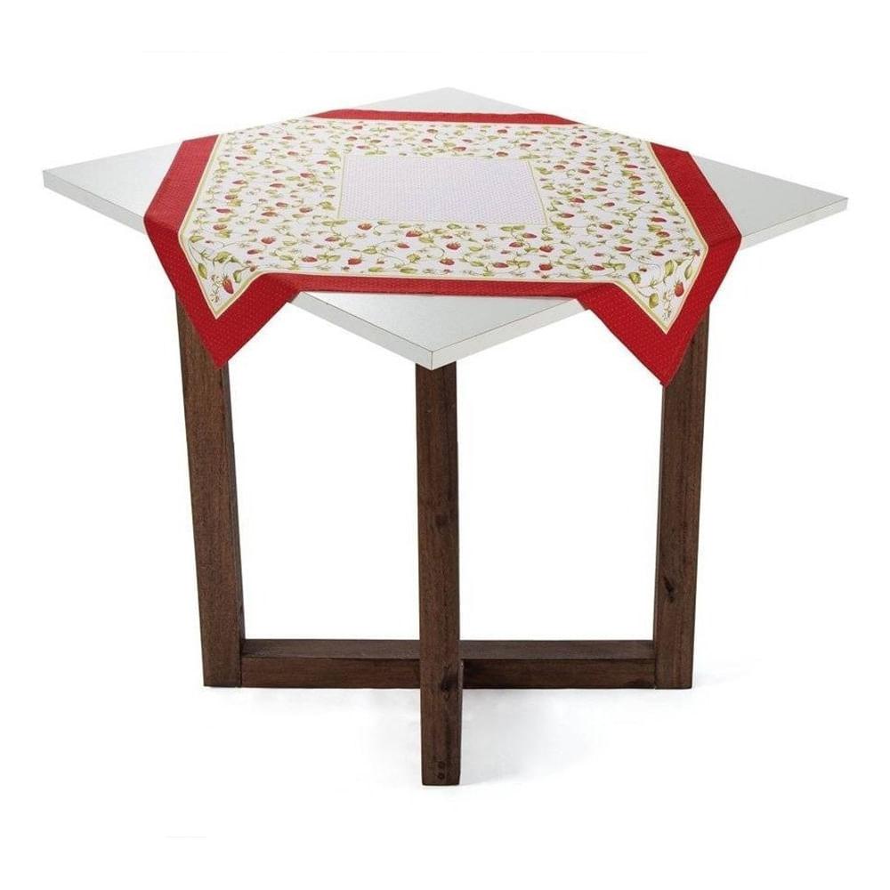 Toalha de mesa quadrada de chá Karsten Morata 78x78cm