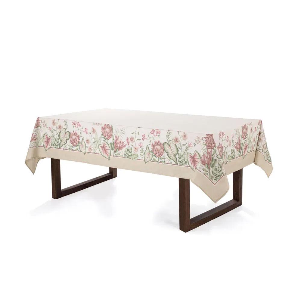 Toalha de mesa Karsten Protea 1,60mx2,70m