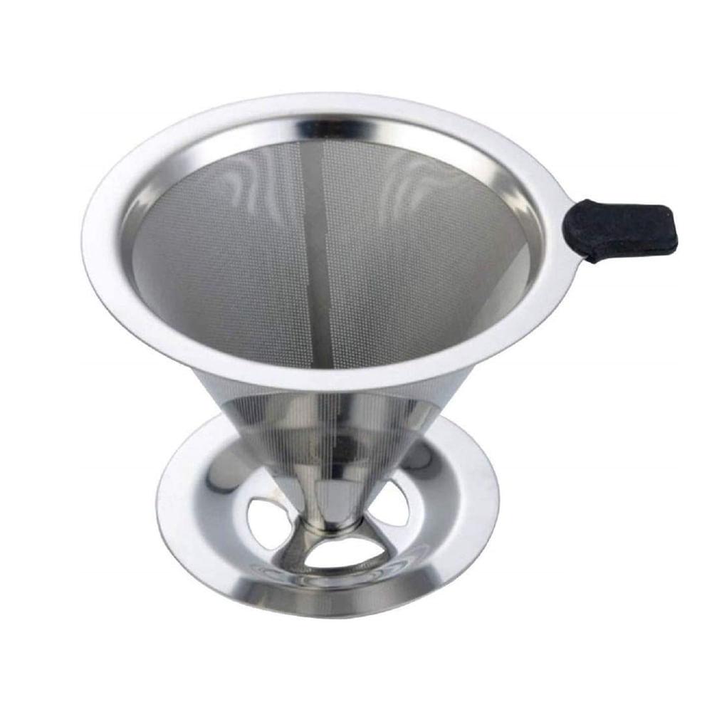 Coador de café reutilizável em inox Uny Gift