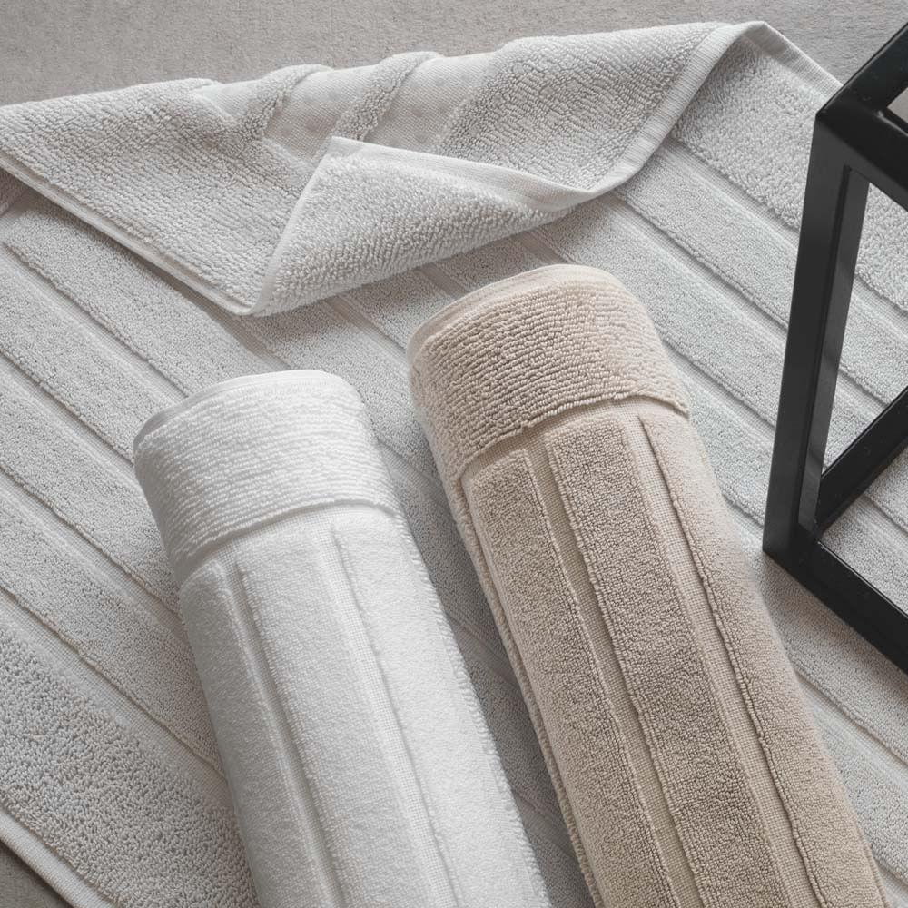 Toalha para piso Trussardi Scala 86x60cm legno
