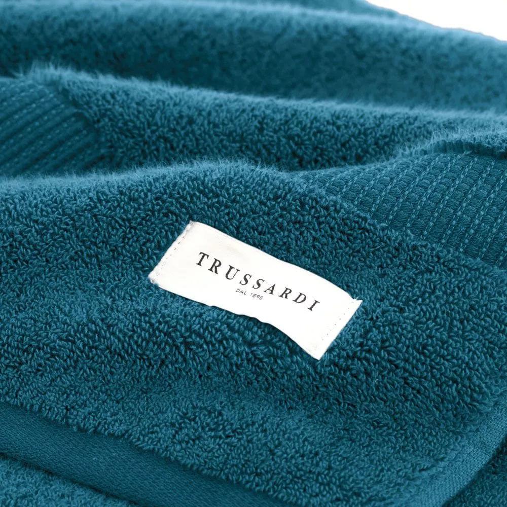 Jogo de toalhas Trussardi Doppia 2 peças Mediterraneo