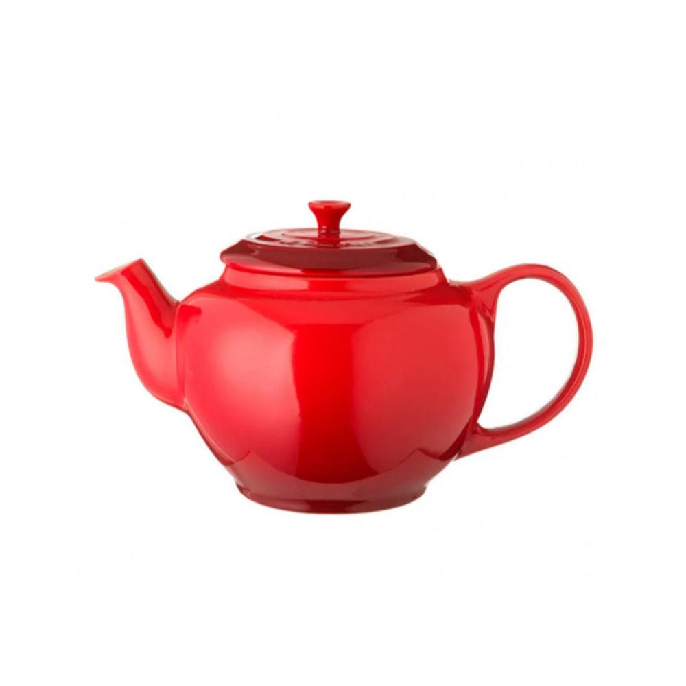 Bule para chá cerâmica com infusor Le Creuset 650ml vermelho