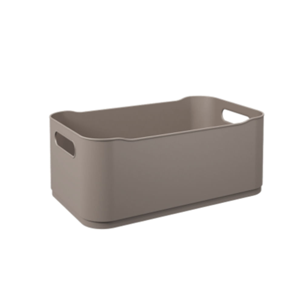 Cesta Coza Fit grande 30,5cm warm gray