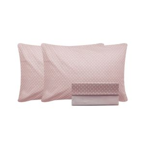 Jogo-de-lencol-duplo-com-elastico-Domani-DMI-Estampado-queen-100--algodao